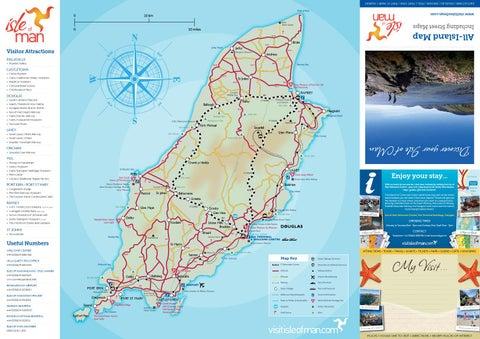isle of man map amp street plan by visit isle of man issuu