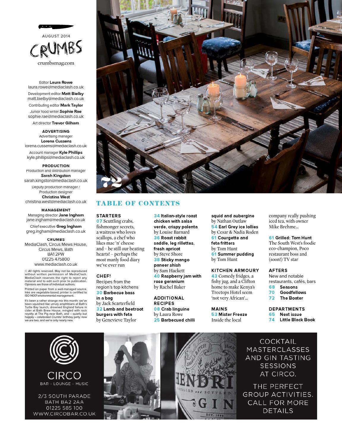 Crumbs Bath & Bristol issue 26 by MediaClash - issuu