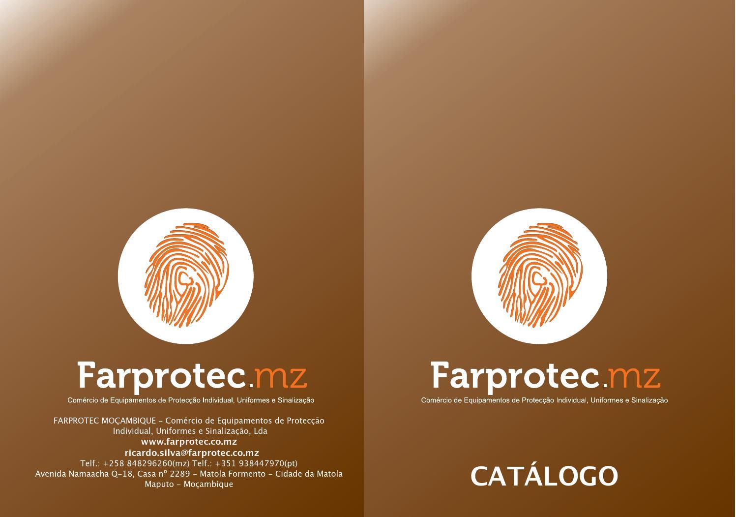 FARPROTEC - Catálogo by Farprotec Mozambique - issuu 93374549dea