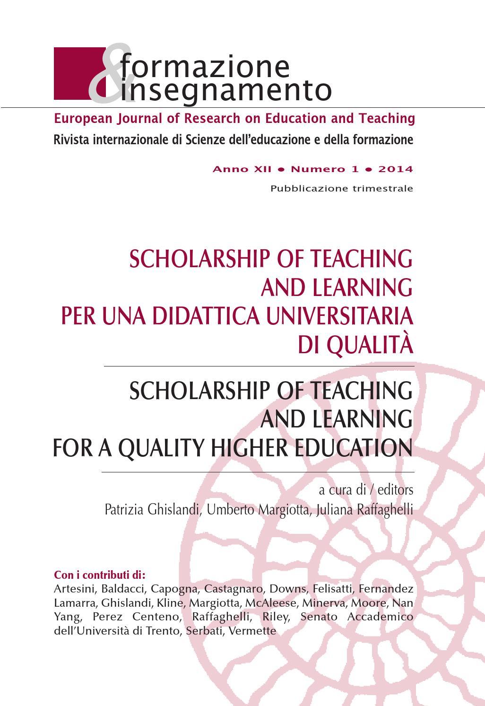 Formazione   Insegnamento 1 2014 by Pensa Multimedia - issuu d3cc99c62454
