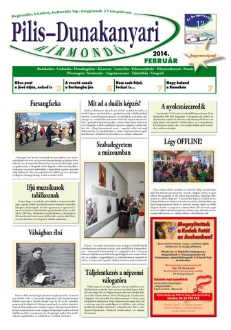 Pilis-Dunakanyari Hírmondó 2014.02. by Szentendre NET - issuu 72d090b7f8