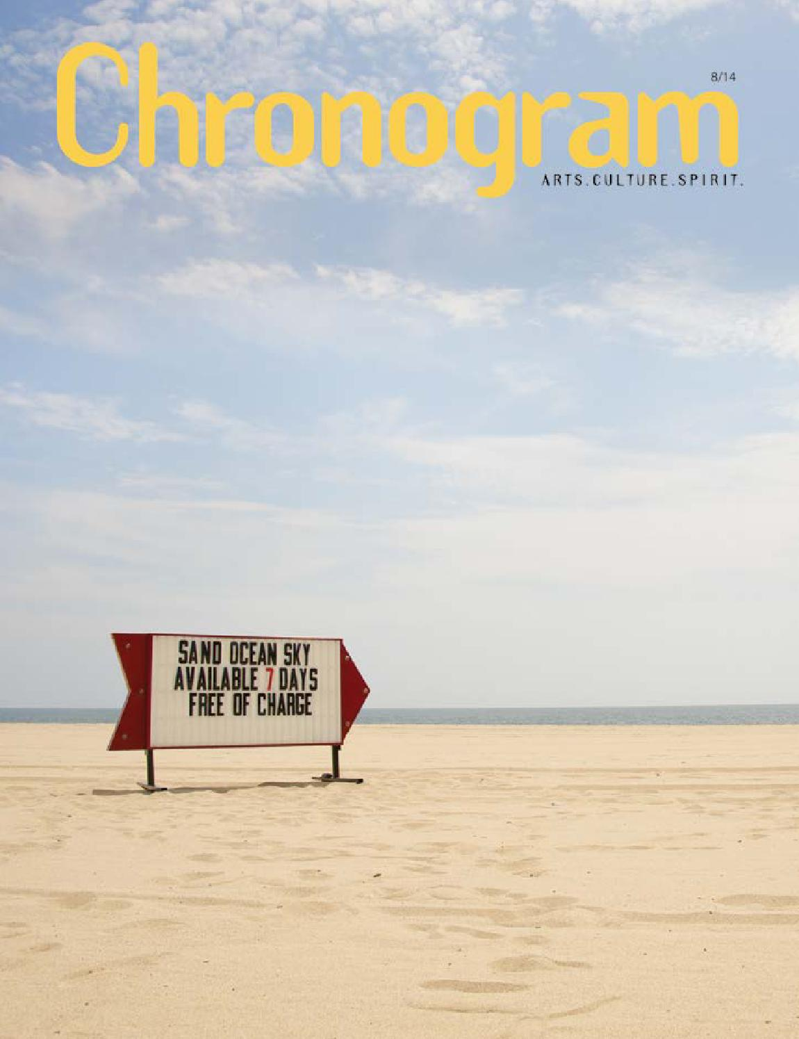 August 2017 Chronogram By