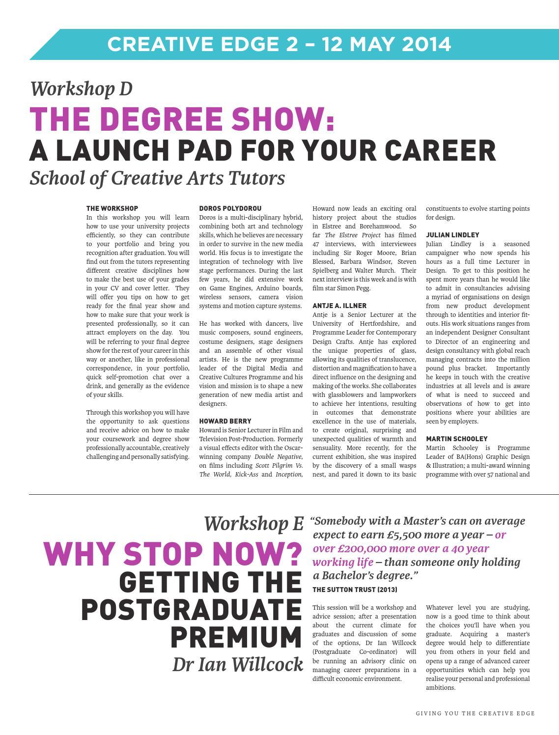 University of Hertfordshire School of Creative Arts