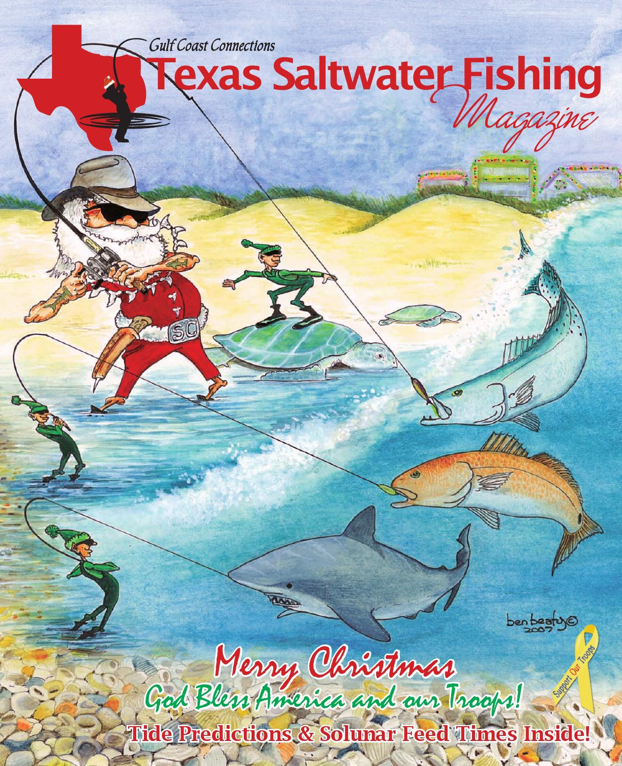 December 2007 by texas salwater fishing magazine issuu for Texas saltwater fishing magazine