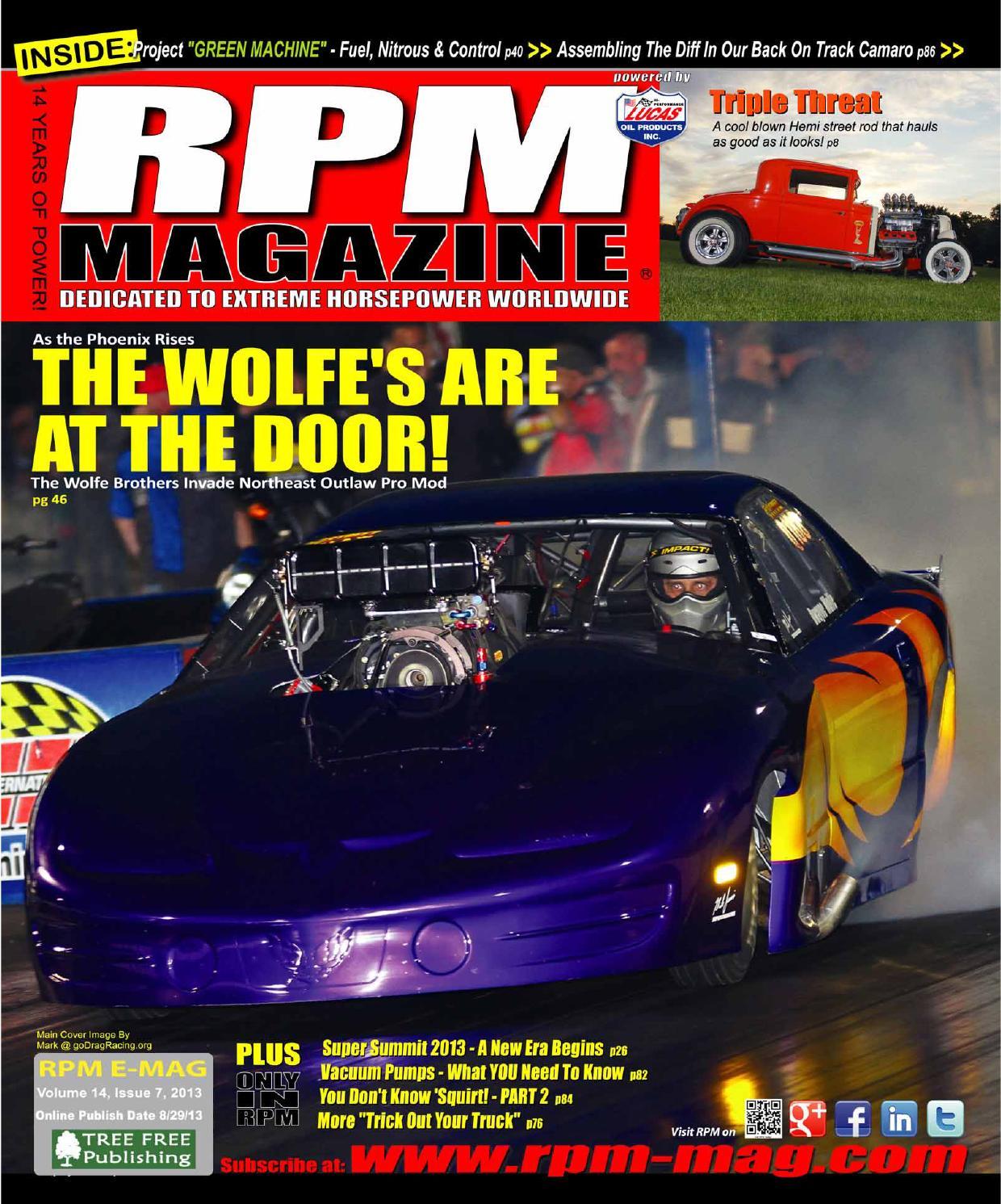 Rpm Magazine August Issue 2013 By Issuu Summit Lt1 Wiring Harness 93