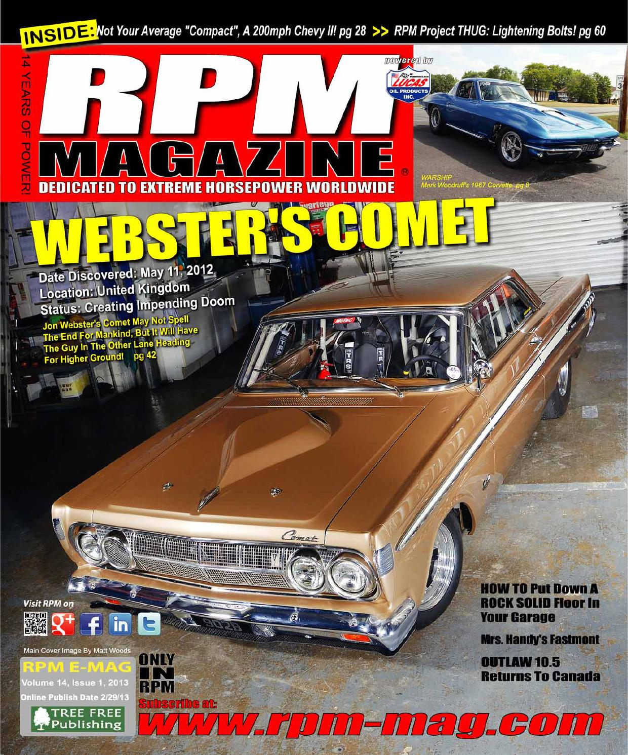 Rpm Magazine February Issue 2013 By Issuu 1961 Ford Falcon The Girls Of Sema 2014 High Horsepower