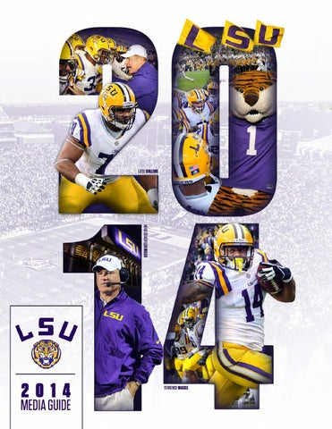 c0253a05cf3 2014 LSU Football Media Guide by LSU Athletics - issuu