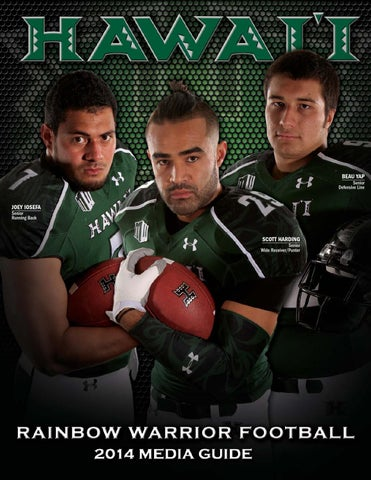 2014 Rainbow Warrior Football Media Guide by