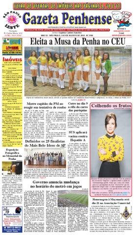 22e1c14e4a 3 a 9 08 14 - edição 2184 - Gazeta Penhense by Marcelo Cantero - issuu