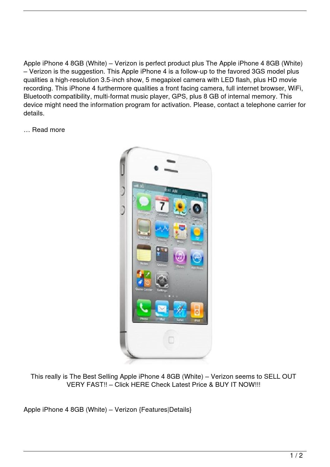 iphone 4 verizon apple iphone 4 8gb white verizon review by le trung 10892