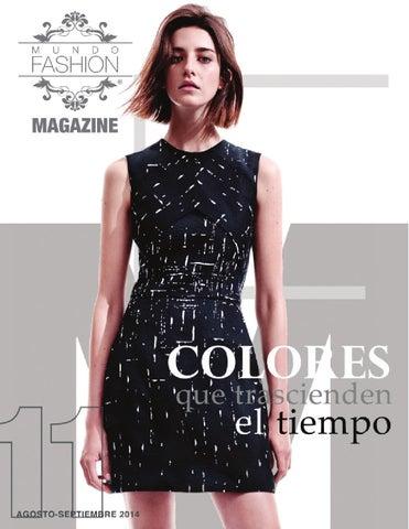 fa7f240e38 Mundo Fashion Magazine No. 11 Agosto-Septiembre 2014 by Mundo ...
