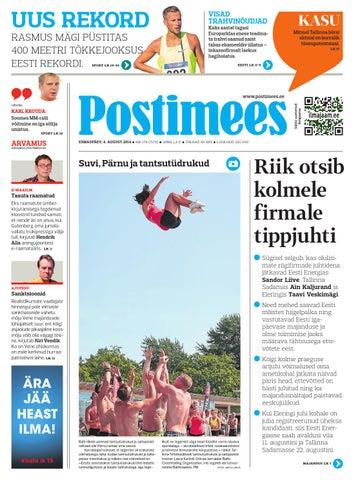 60812826ce1 Postimees 04 08 2014 by Postimees - issuu