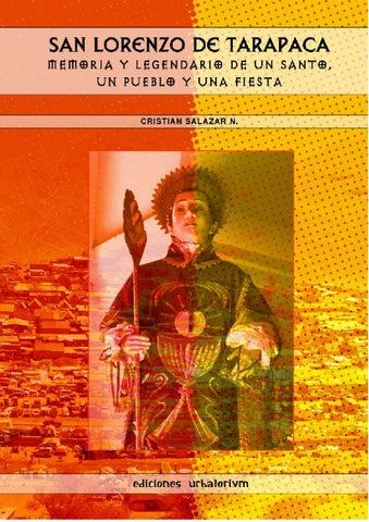 SAN LORENZO DE TARAPACÁ  Memoria y legendario de un santo 53b5f2a8aba