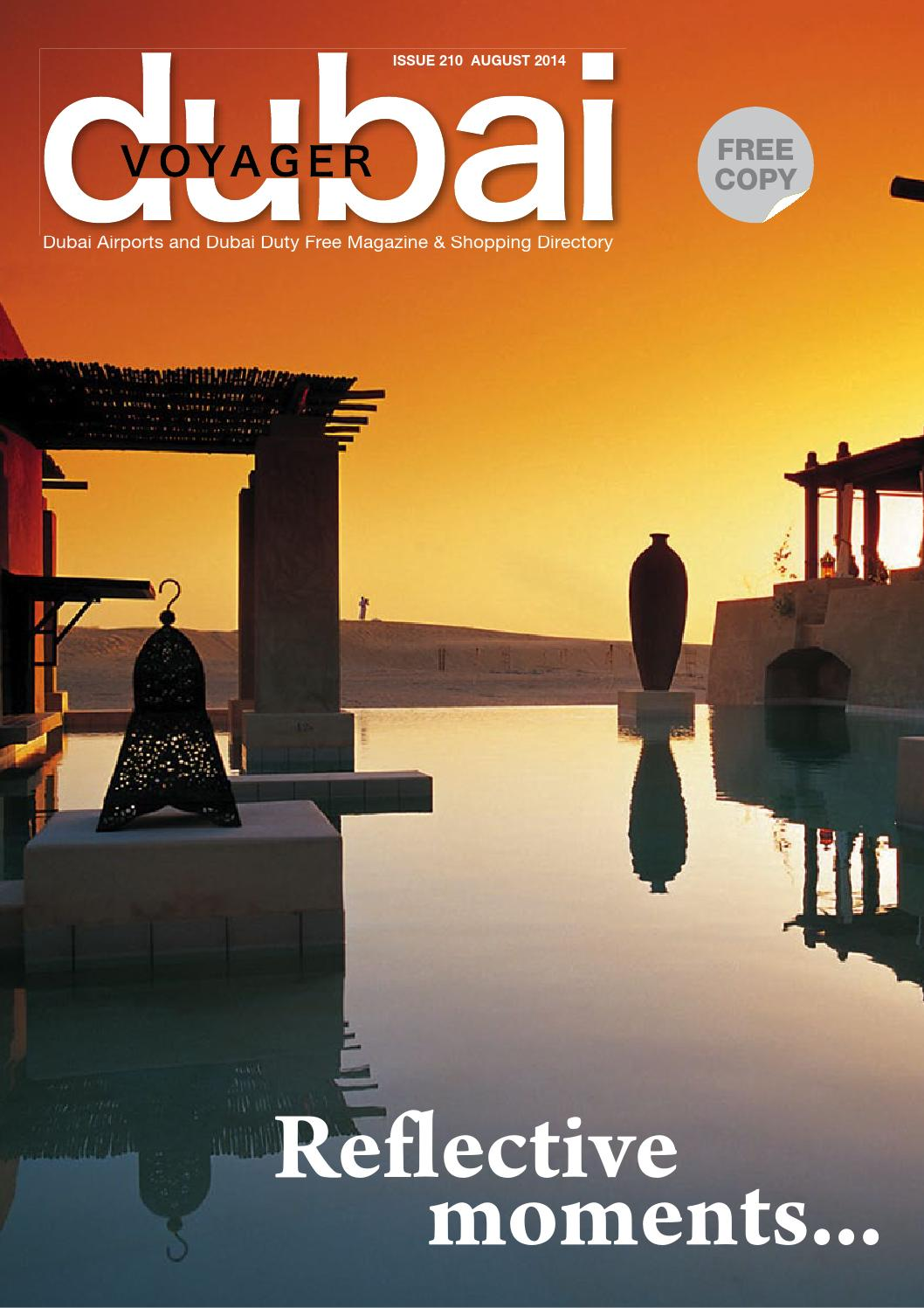 Dubai Voyager August 2014 By Motivate Media Group Issuu