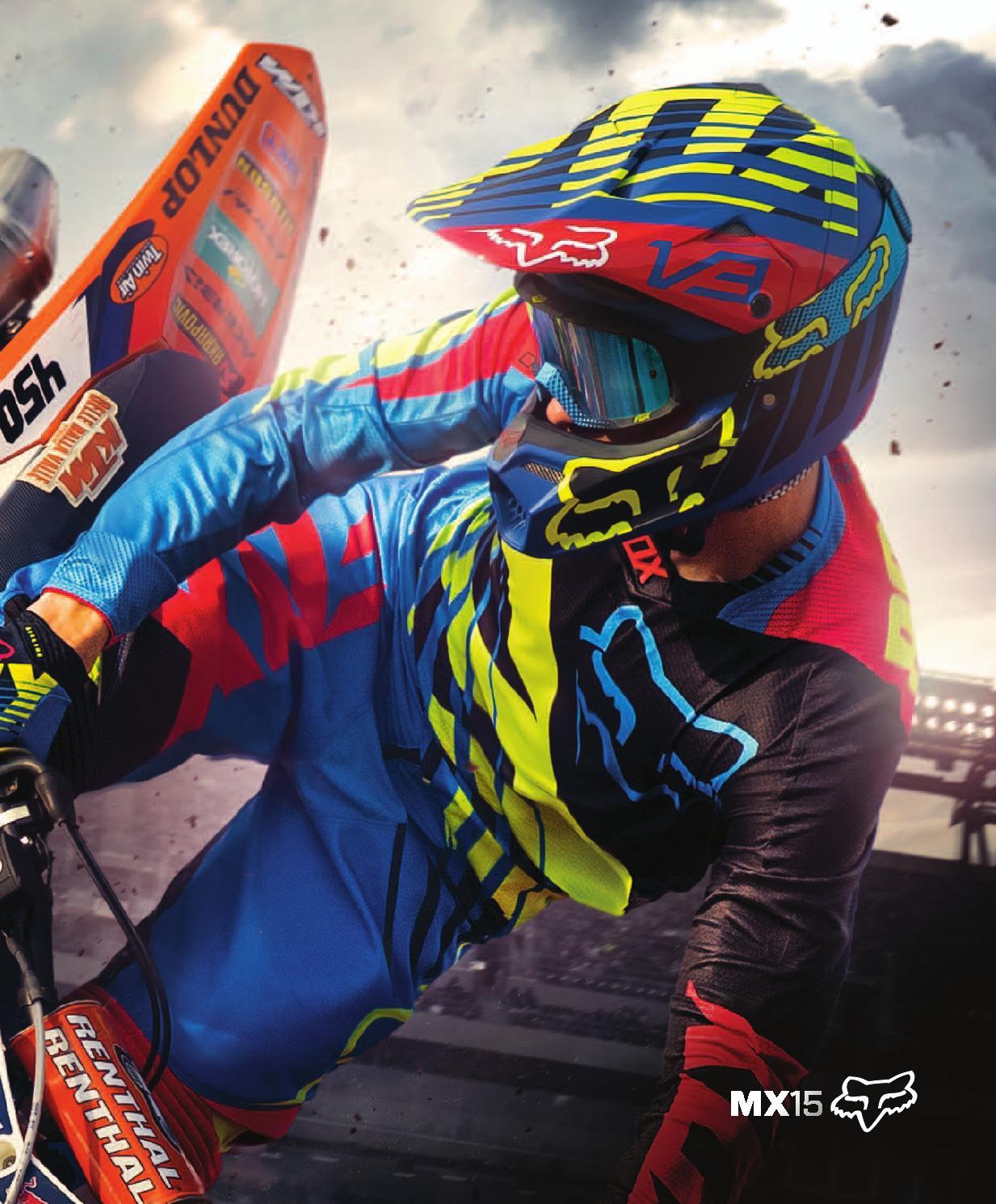 FOX MX Rain Jacket 2015 MX Fluid Orange Orange orange Size:S