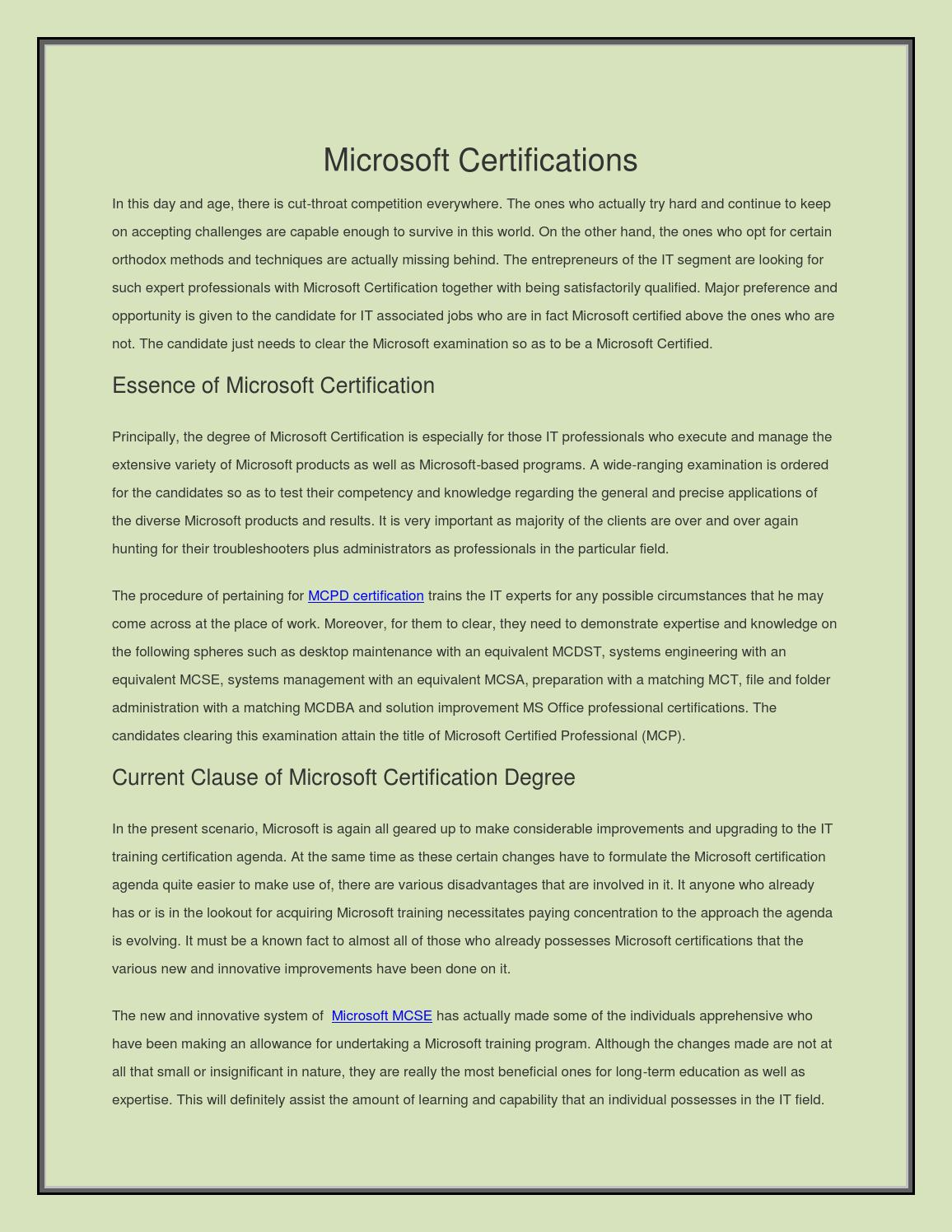 Microsoft certifications by midast34 issuu xflitez Images