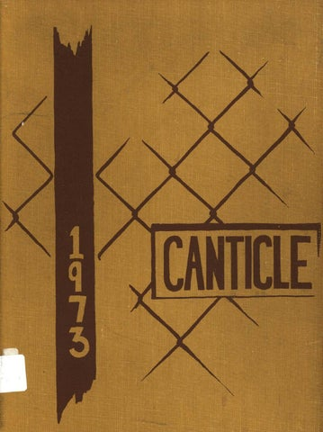 Notre dame high school canticle 1973web by Notre Dame High School ...