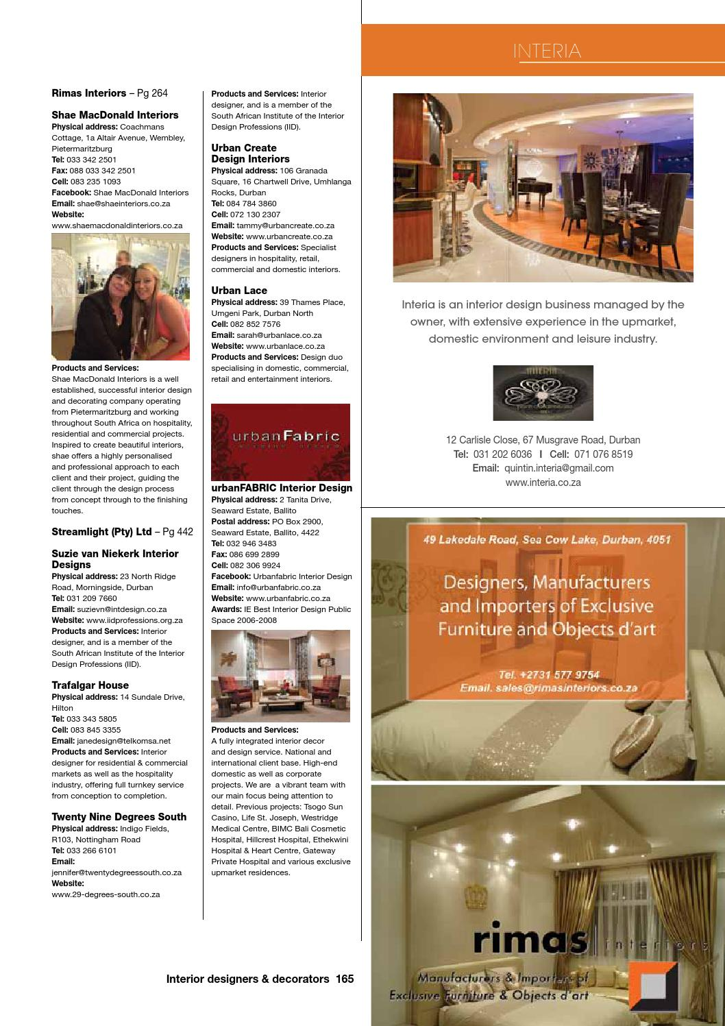 18th Edition Of The Buyers Guide By Sa Decor Design Issuu