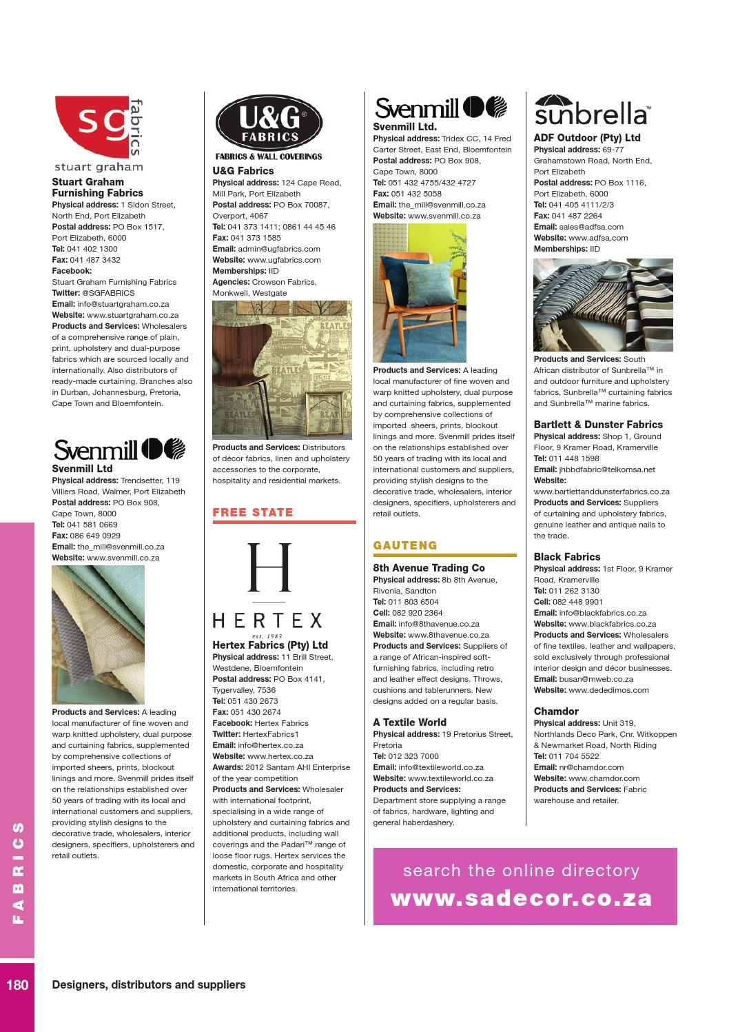 18th Edition of The Buyers Guide by SA Decor & Design - issuu