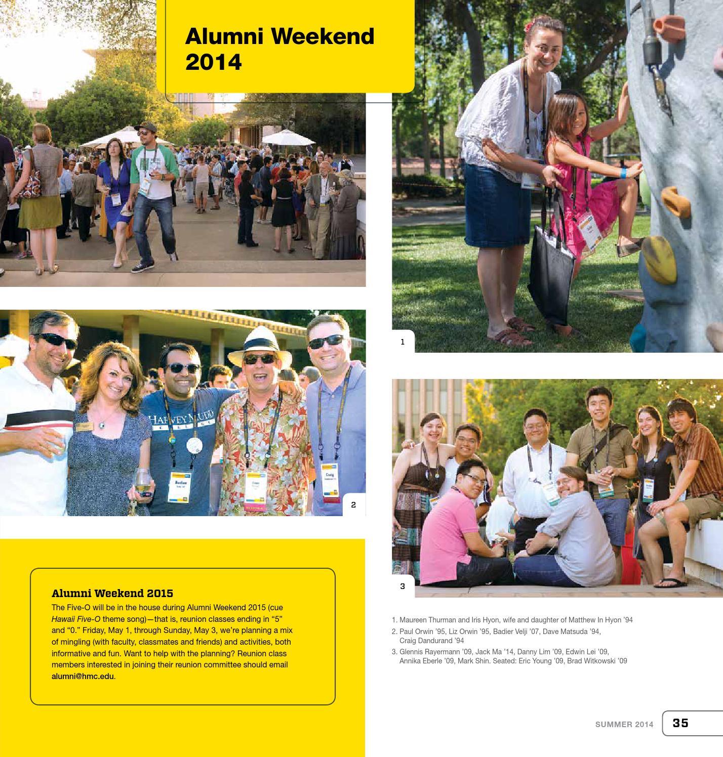 Harvey Mudd College Magazine summer 2014 by Harvey Mudd