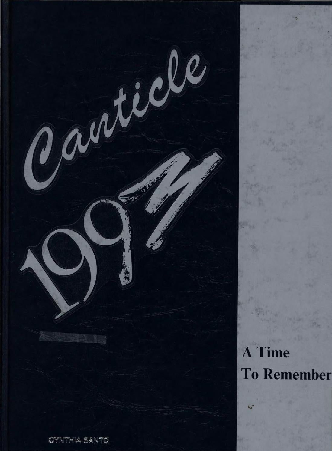 Notre Dame High School Canticle 1993web By Makaroni Cheese 250 Gr Wjk Un Lawrenceville New Jersey Issuu