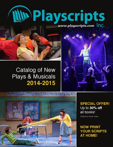 Playscripts inc catalog of new plays musicals 2014 2015 by page 1 fandeluxe Gallery