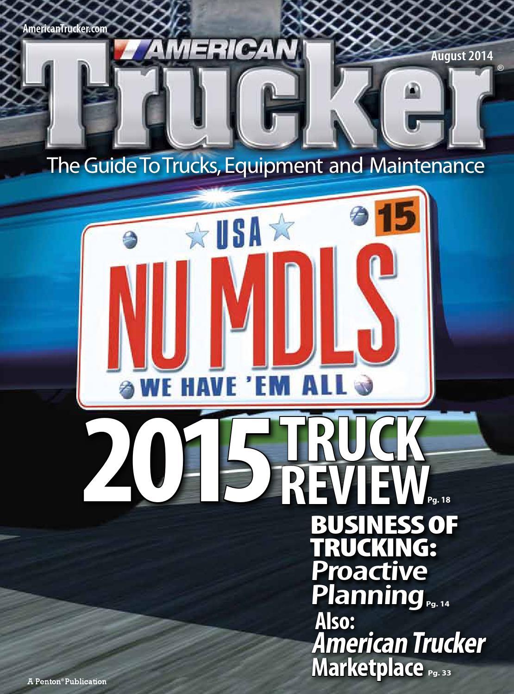 American Trucker August 2014 by American Trucker - issuu