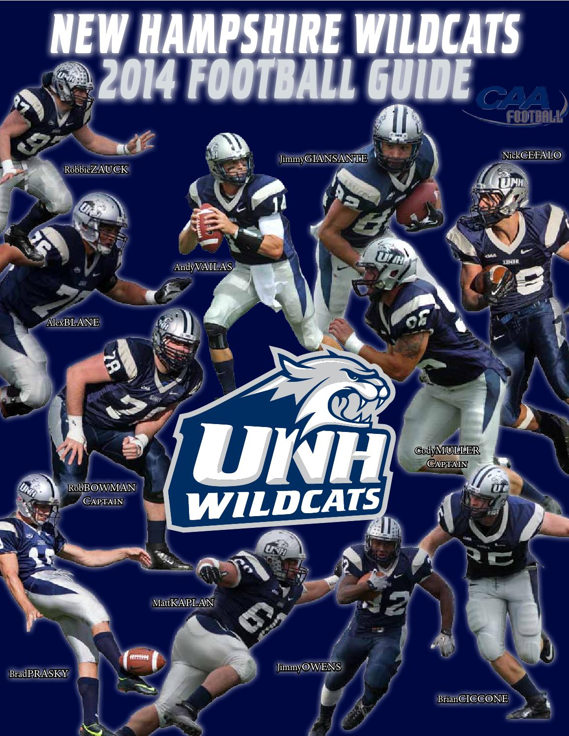 UNH Football Media Guide 2014 by University of New Hampshire Athletics -  issuu 5e15c9931