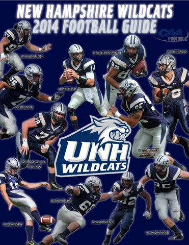 UNH Football Media Guide 2014 by University of New Hampshire ... d5dc39d38