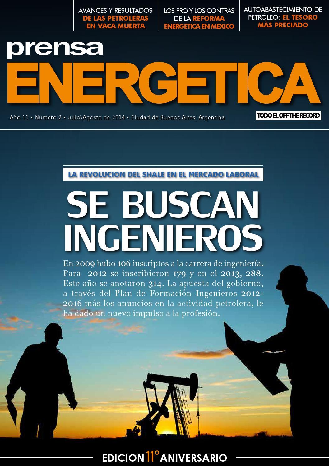 REVISTA PRENSA ENERGETICA JULIO / AGOSTO 2004 by gsalip gaston - issuu