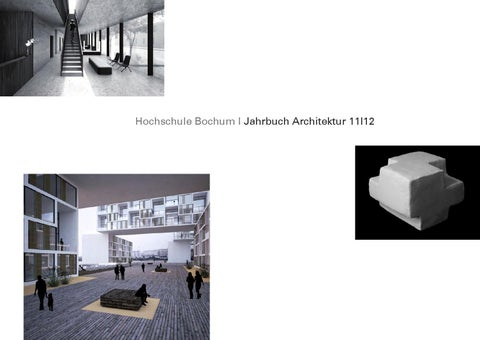 Jahrbuch Architektur HS Bochum 2012 By Harald Gatermann   Issuu