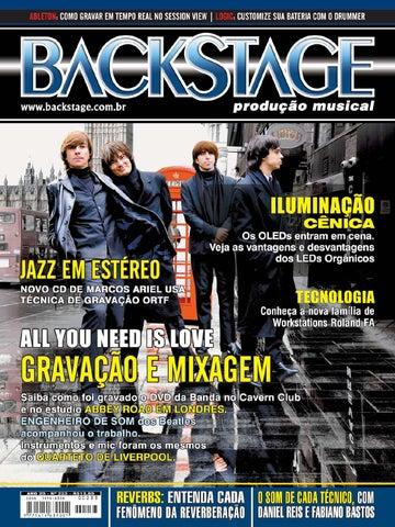 Edição 233 - All you need is love - Gravação e Mixagem by Revista ... e583de3bc7ec7