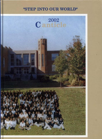 Notre Dame High School Canticle 2002web By Notre Dame High