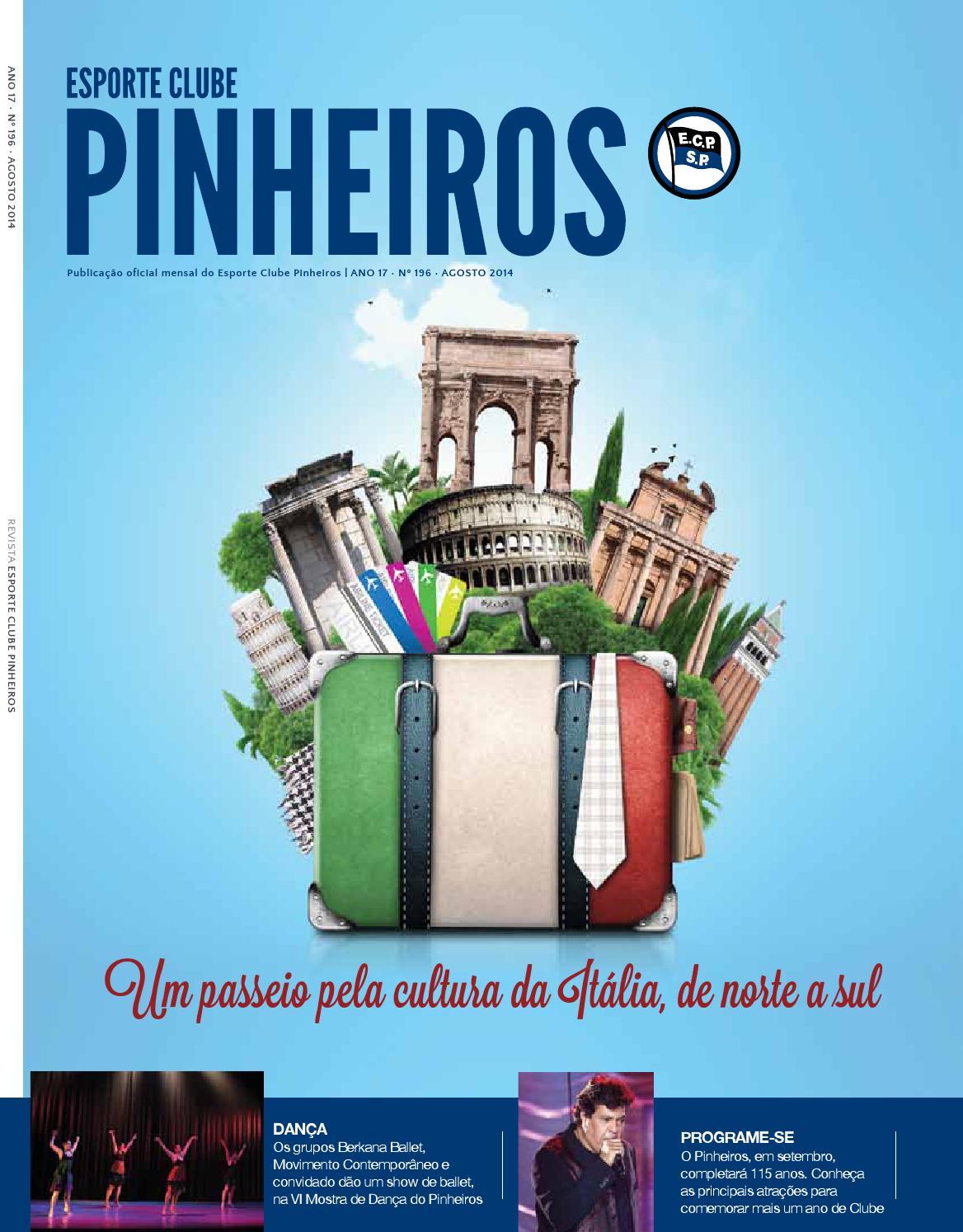 Revista n°196 Agosto 2014 by Esporte Clube Pinheiros - issuu b172ff3a7bbcc
