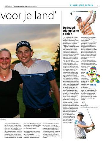 2b42e0b5fb3 Golf weekly 2014 19 by TIG Sports - issuu
