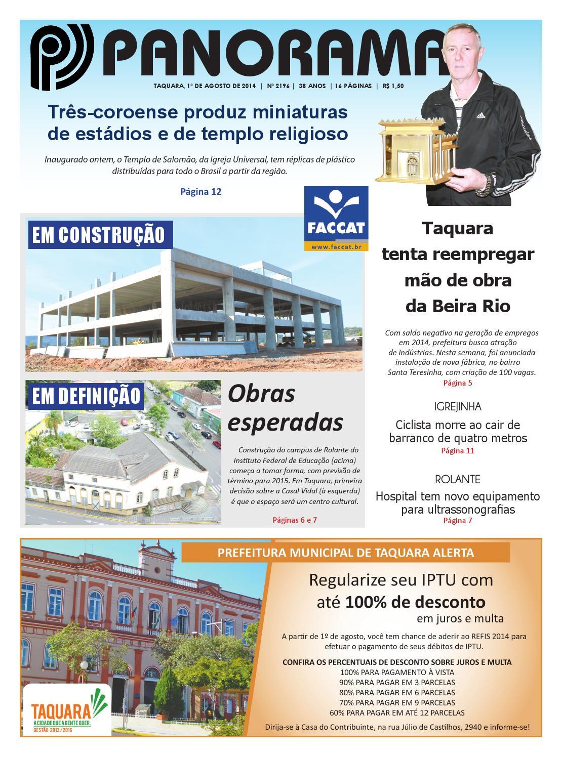 de2ff2ead91ec 2196 by Jornal Panorama - issuu