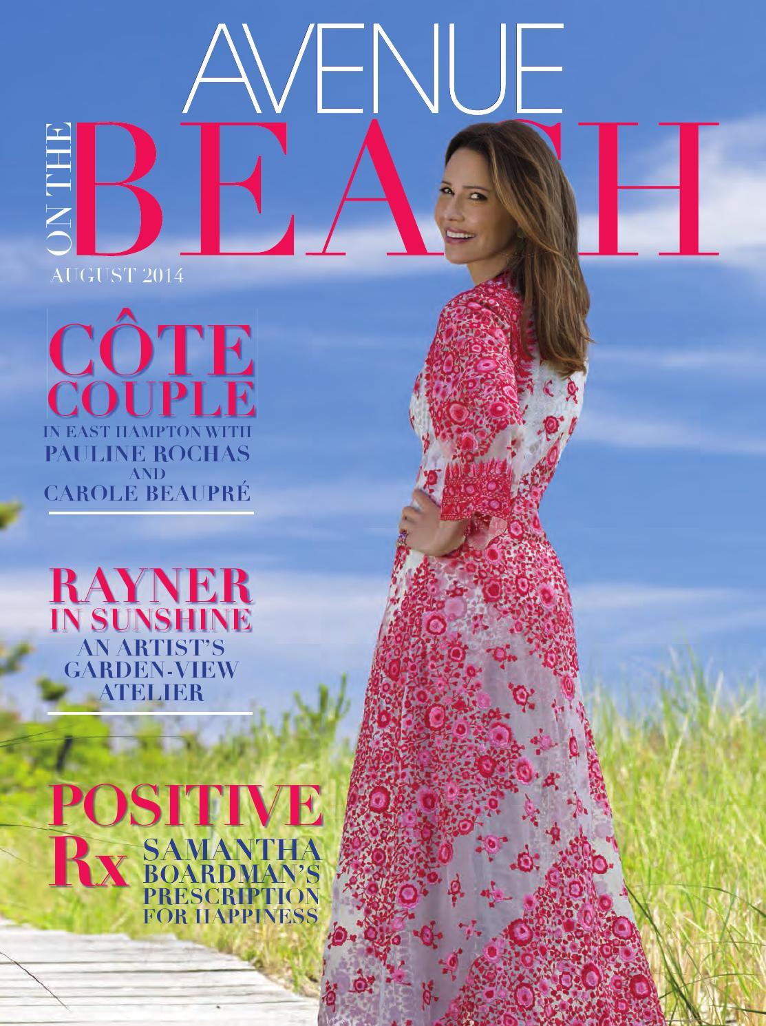 e5c0a05da6 AVENUE on the Beach August 2014 by AVENUE Magazine - issuu