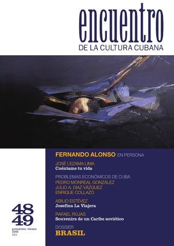 ENCUENTRO DE LA CULTURA CUBANA - Ns.48 49-completa   Editor Jesús ... 047dfc85857