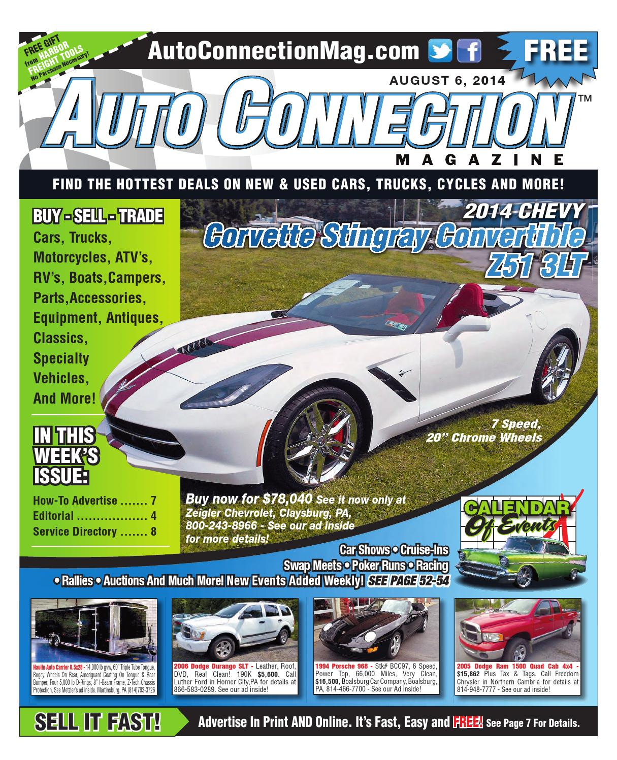 08 06 14 Auto Connection Magazine By Issuu 1980 Chevy Timing Cover Marks View