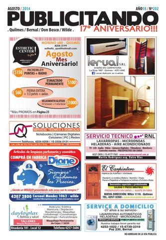 17º ANIVERSARIO!  Publicitando   Agosto 2014 by Publi Editores - issuu 8dc6b8dc8f68