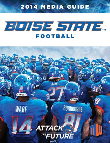 fcbce54cf 2014 Boise State Football Media Guide by Boise State University - issuu