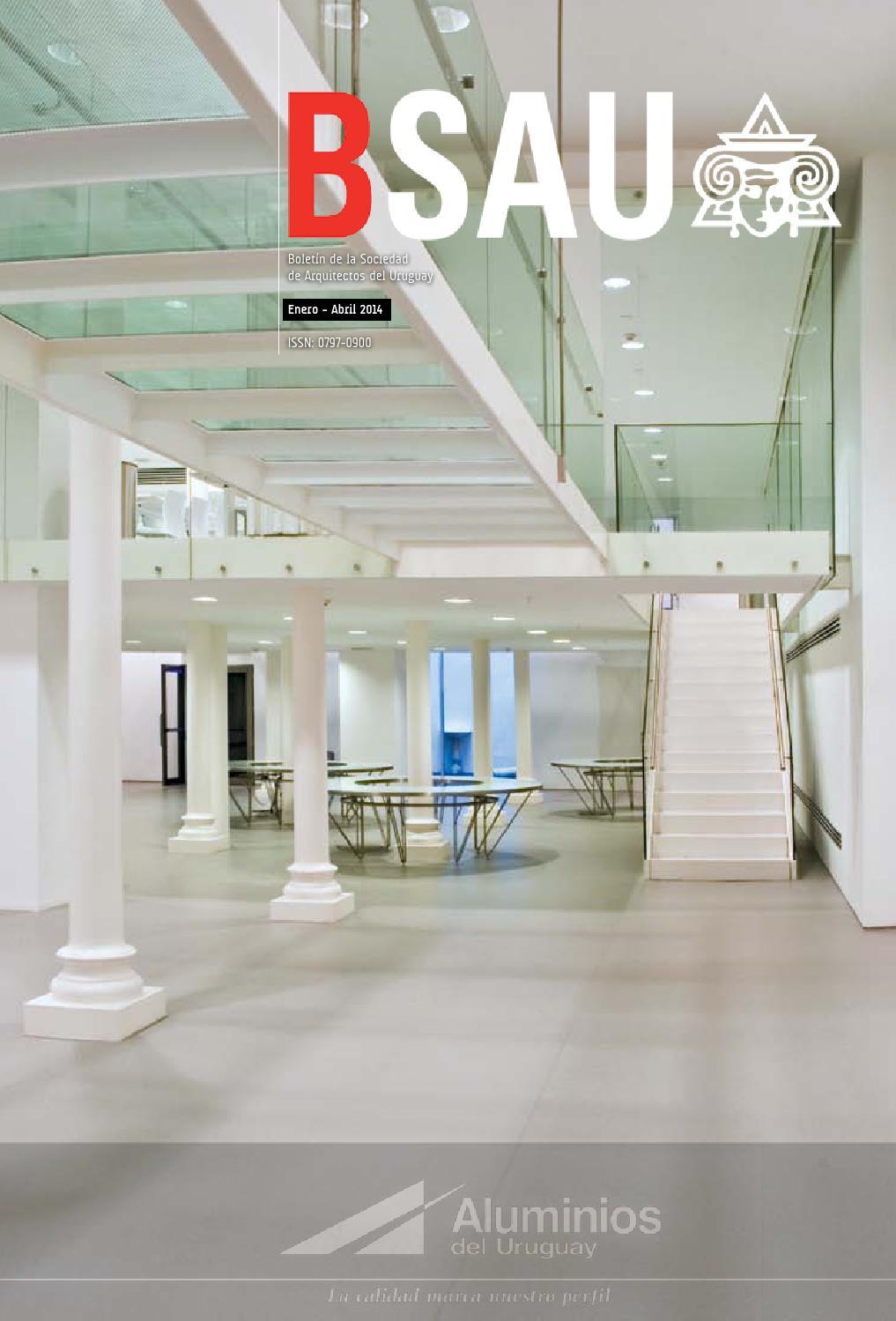 bsau enero abril 2014 by sociedad de arquitectos del