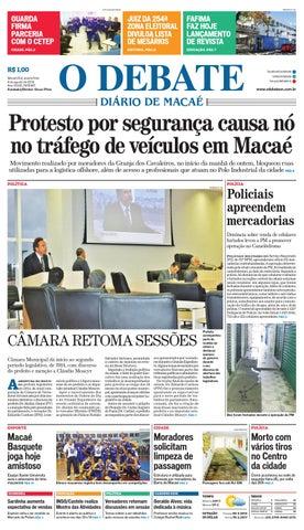 Noticiário 06 08 14 by O DEBATE Diario de Macae - issuu 9ea1e71c76