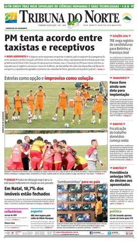 9600271055 Tribuna do Norte - 06 08 2014 by Empresa Jornalística Tribuna do ...
