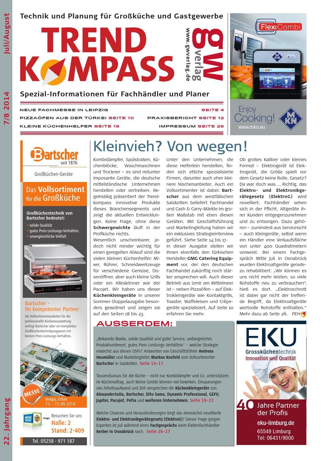 Trendkompass 7.8/14 By GW VERLAG   Issuu