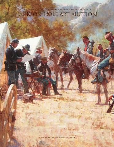 65ef7f1172b Jackson Hole Art Auction Catalog 2014 by Art Gallery Publication - issuu