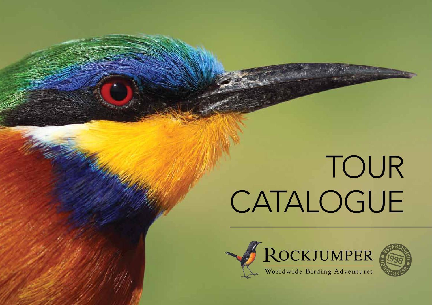 Rockjumper Birding Tours Tour Catalogue By