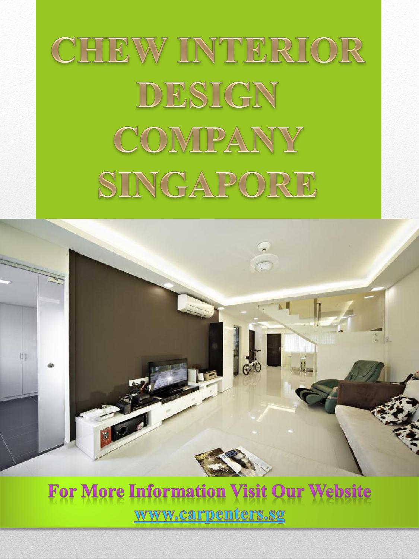 Chew Interior Design Company Singapore By Interior Designer Singapore Issuu