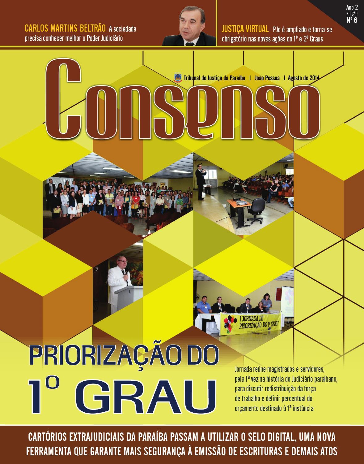 Consenso 6 by TJPB - issuu de5549b40d7a