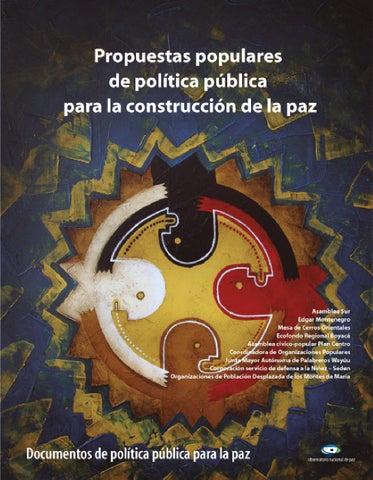 Propuestas populares de políticas públicas para la construcción de ... edd61c3f4bc7